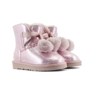 Детские Угги Gita Metallic - Pink