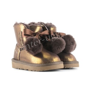 Детские Угги Gita Metallic - Bronze