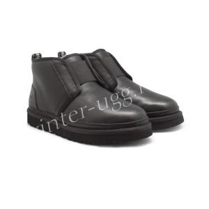Женские Ботинки Neumel Flex Кожаные - Black