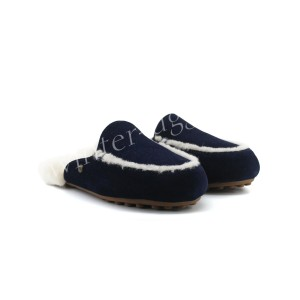 Меховые Тапочки Lane Slip On Loafer - Navy