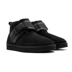Женские Ботинки Neumel Snapback - Black