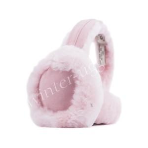 Меховые наушники Earmuff - Pink