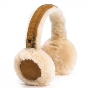 Меховые наушники Earmuff - Chestnut