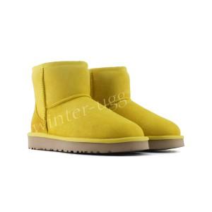 Угги Мини Непромокаемые - Yellow