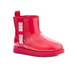 Детские Угги Clear Mini II Boot - Hibiscus Pink