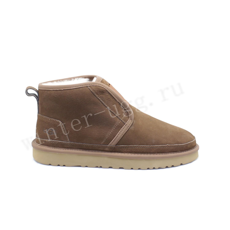Мужские Ботинки Neumel Flex Nubuck - Chestnut