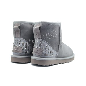 Угги Мини Studded Bling - Grey Violet