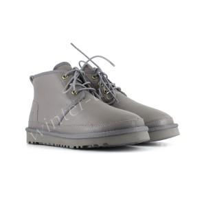 Женские Ботинки Кожаные Neumel - Grey