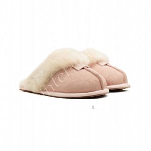 Меховые Домашние Тапочки Scuffette II - Pink