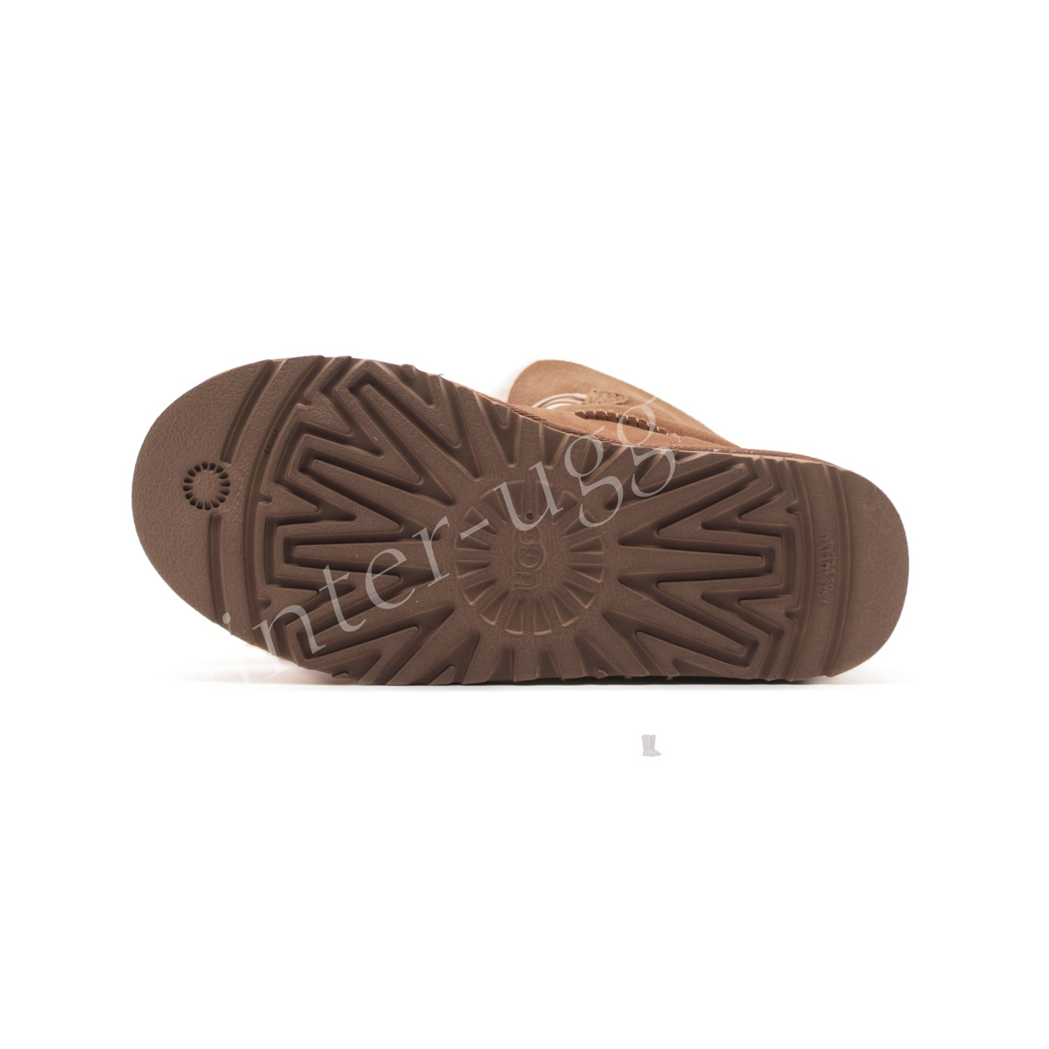 Угги Gita Bow Mini - Chestnut
