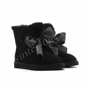 Угги Gita Bow Mini - Black