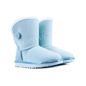 Угги с Пуговицей Непромокаемые Metallic - Iceberg