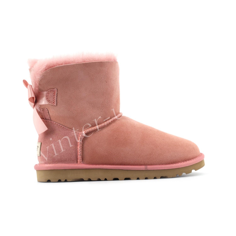 Угги Мини  Bailey Bow II - Sweet Pink