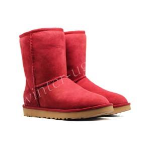 Угги Непромокаемые Classic Short - Red