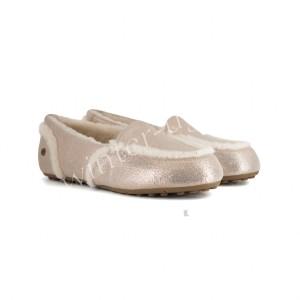Женские Мокасины Hailey Metallic Loafer - Rоse Gold