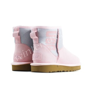 Угги Мини Sparkle Boot - Seashell Pink