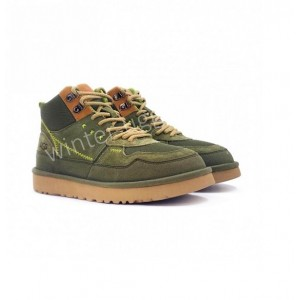 Женские кроссовки UGG на шнурках Sneakers Highland Hi Heritage - Burnt Olive