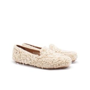 Женские Мокасины Hailey Fluff Loafer - Sand