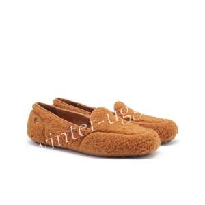 Женские Мокасины Hailey Fluff Loafer - Chestnut