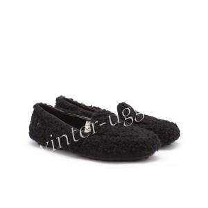Женские Мокасины Hailey Fluff Loafer - Black