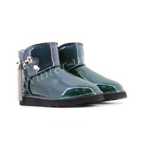 Мини Угги Josey Patent - Emerald
