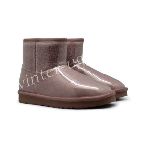 Угги Мини Isabelle Transparent Waterproof Boot - Brown