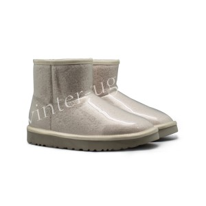Угги Мини Isabelle Transparent Waterproof Boot - White