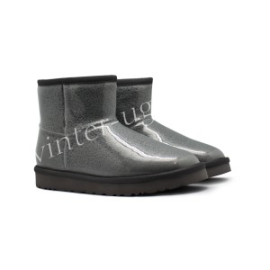 Угги Мини Isabelle Transparent Waterproof Boot - Grey