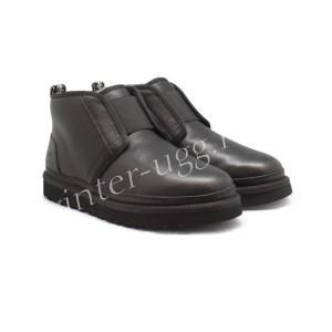 Мужские Ботинки Кожаные Neumel Flex - Black