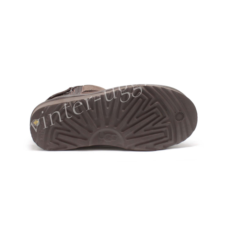 Угги Мини с Молнией - Chocolate