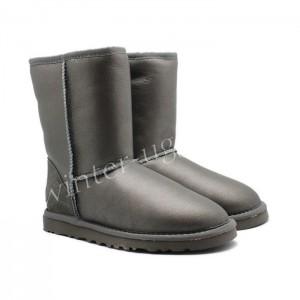 Угги Обливные Classic Short - Grey
