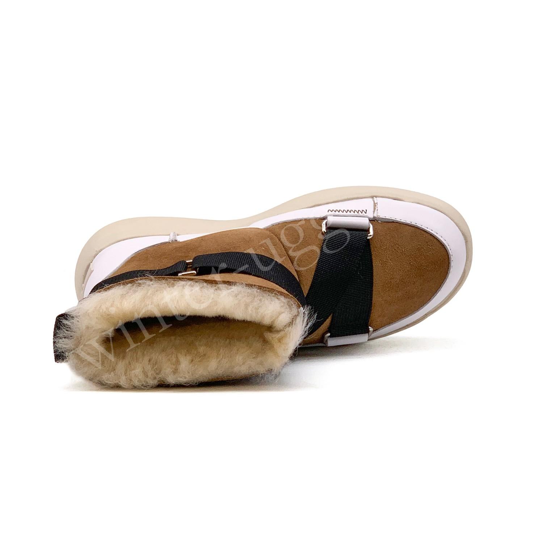 Женские UGG Boom Buckle Boots - Chestnut