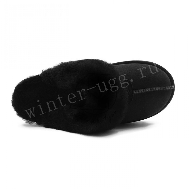 Мужские Домашние Тапочки - Black