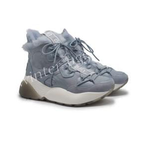 Женские кроссовки на шнурках Cheyenne Trainer - Blue