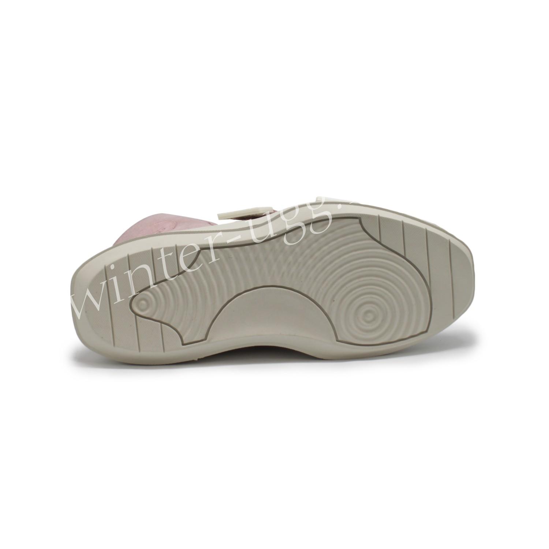 Женские кроссовки UGG на шнурках и липучках Sioux Trainer - Pink