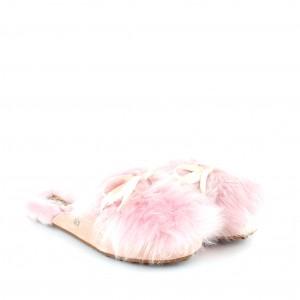 Меховые Тапочки Shaine Fluff - Pink