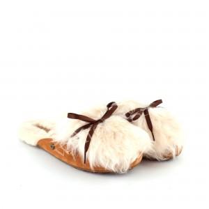 Меховые Тапочки Shaine Fluff - Chestnut